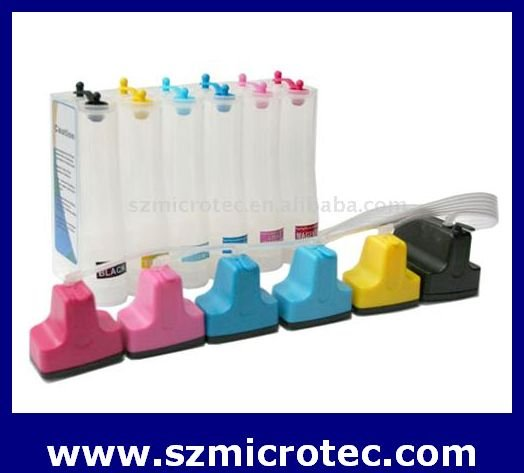 Continuous Ink System for HP Photo Smart C6180/ C7360