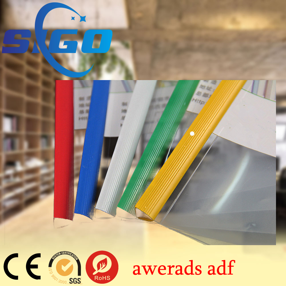 SIGO office use pvc slide binder