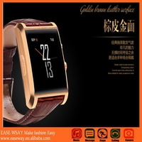 WP001 fashional smart watch phone avatar et-1iwith booth camera , phone call sleeping monitor smart watch