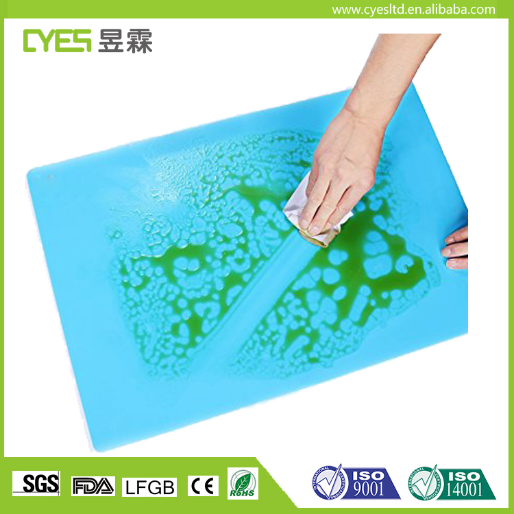 High Quality Approved Non Stick Reusable Customized Silicon Baking Mat