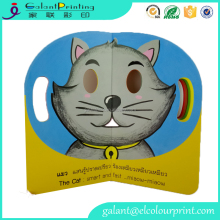 Custom design Children English Learning education Books Baby Board Books Print