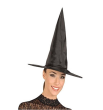 Hot Selling Festival Halloween Props Black Hat Witch Dance Costume High Quality Party Hat