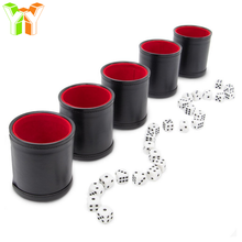 YOUYUE Custom Leather Dice Cups for Sex Dice Adult Game