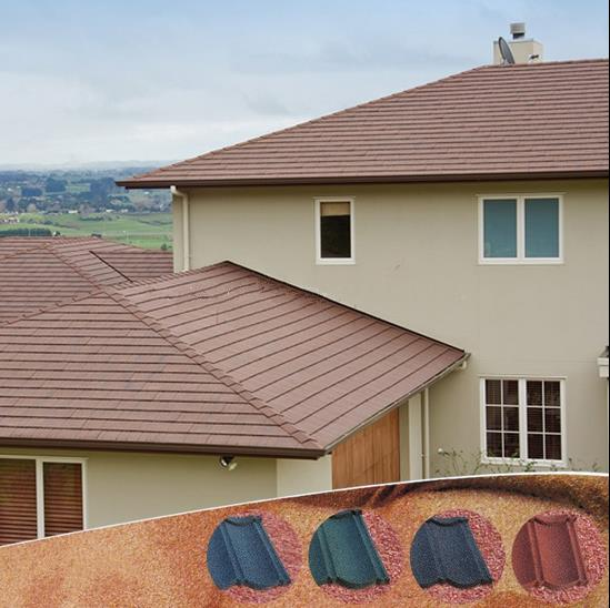 Best quality with CE and ISO9001 red clay roof tiles light weight roof tile material