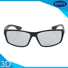 Circular Polarized Passive 3D Glasses,Hony 3D Glasses For DVD Movie Game for 3D TVs and 3D Cinema System