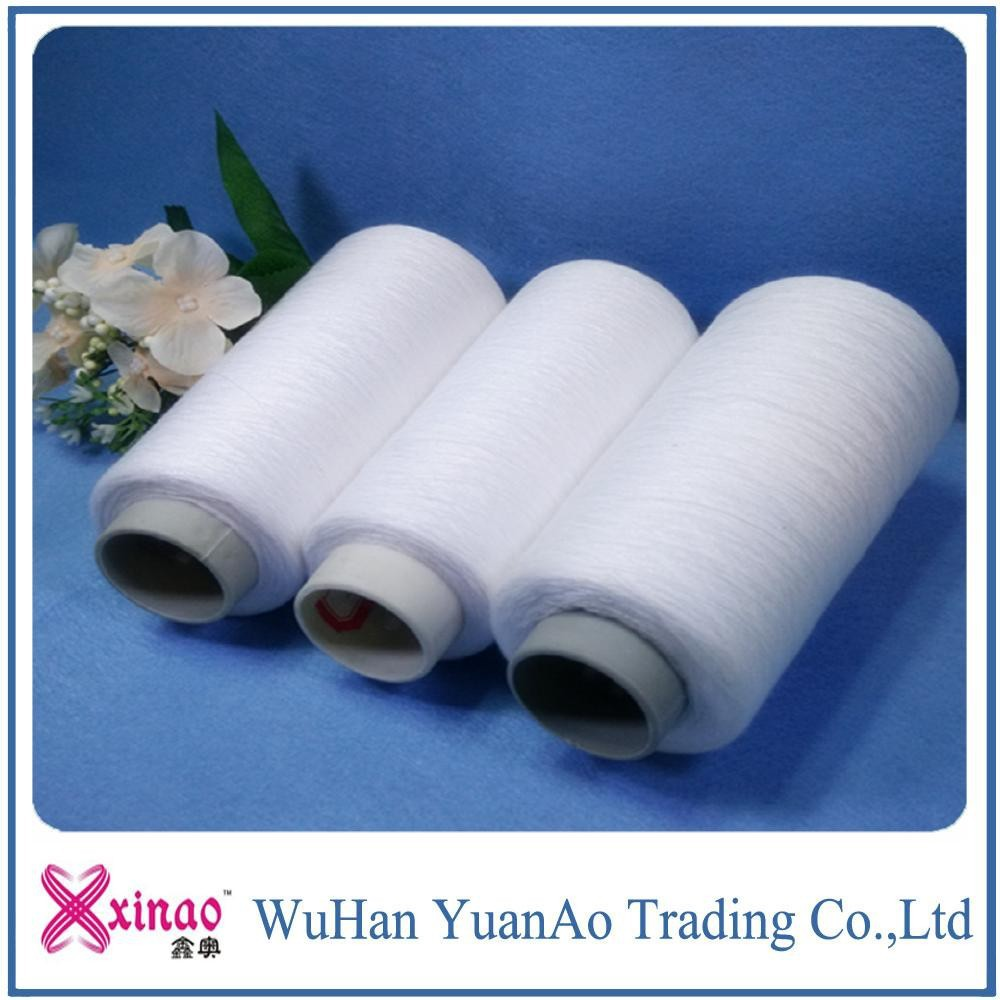 100% Spun Polyester Yarn For Knitting And Sewing On China Market