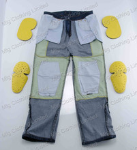 Motorcycle Aramid jeans armour