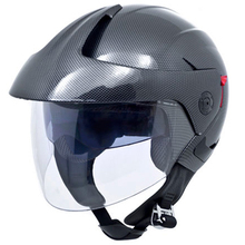 Jet Pilot /Motorcycle Helmet Open Face with dual visors