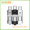 Alibaba China Rebuildable Tank Atomizer 100% Original OBS Crius RTA