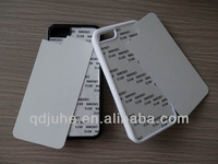 TPU+PC sublimation phone case for iphone 5c with aluminum sheet