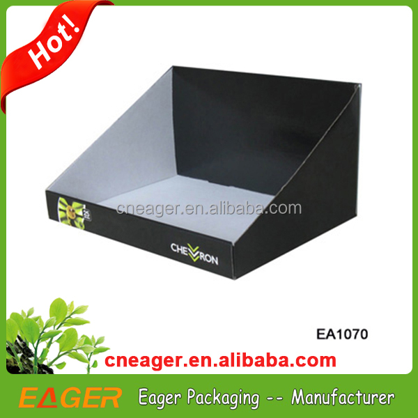 Hot sale cardboard counter top display boxes, high quality product display boxes