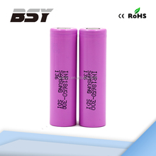 converter voltages 100% Cheapest&Original 3.7V rechargeable 18650 battery 20A Samsung 30Q battery