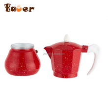 Professional Chinese Supplier Customized Aluminium Colorful Instant Coffee Maker Machine