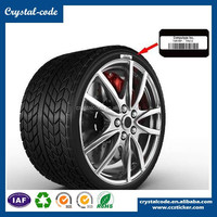 cheap motorcycle car high-quality vulcanized self adhesive tyre label