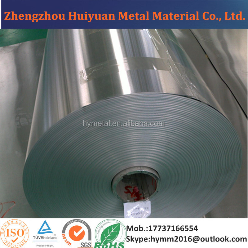 1050 1060 3003 5052 8011 aluminum strip/ coil for cosmetics