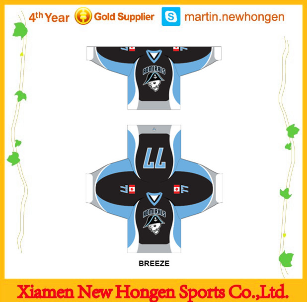 Wholesale hockey jersey and ice hockey equipment