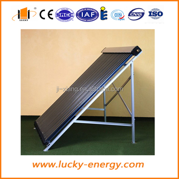 solar keymark manifold heat pipe pressured solar collector for project