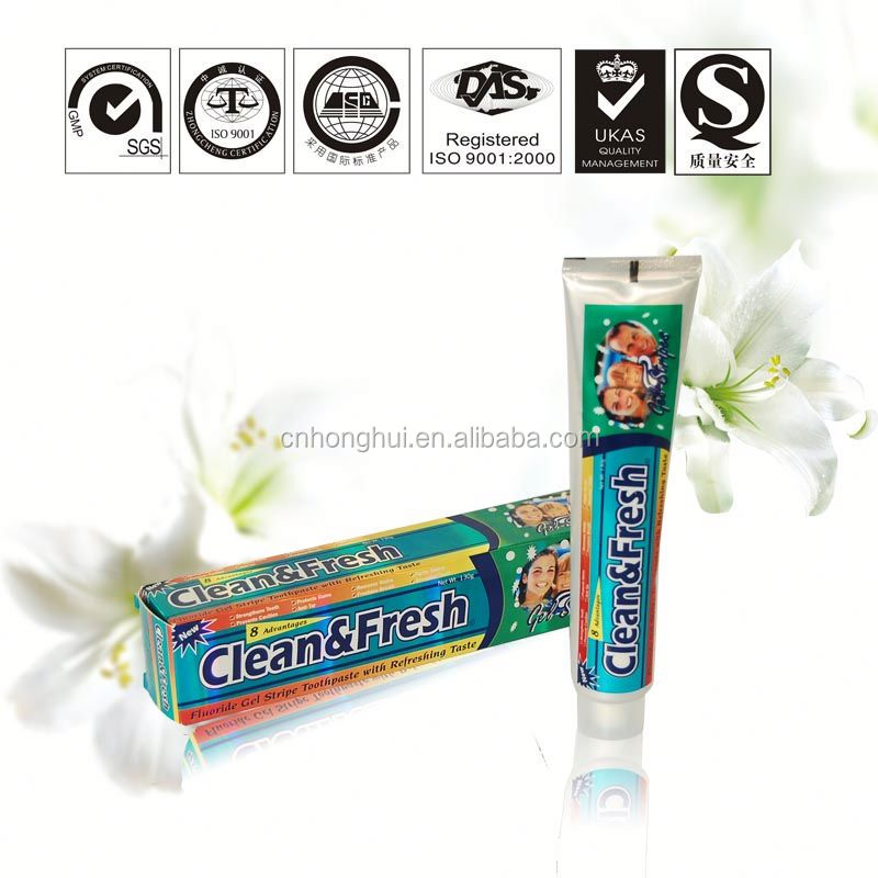 2014 Chinese toothpaste production costs