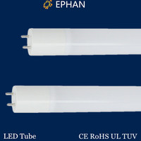 high PF led tube with internal driver as replacement for fluorescent tube