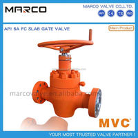 Professional supply handwheel forged steel slab or expanding standard api 6a gate valve prices