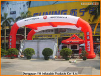 outdoor advertising inflatable arch tent for promotion, event tent
