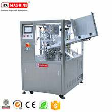 Hi speed cosmetic tube manufacturing machinery filling and sealing machine