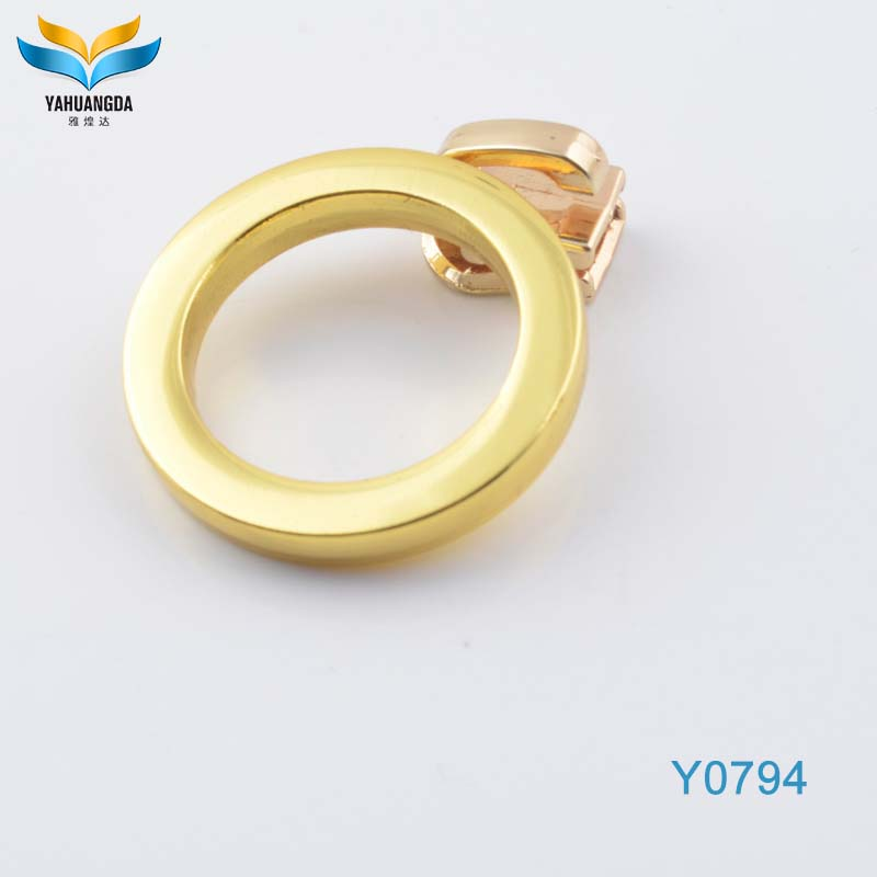 factory wholesale cheap small metal gold bag o ring for bags