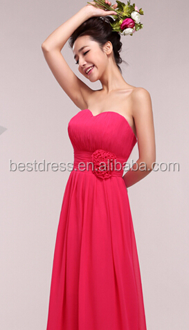 Sexy Long Chiffon Bridesmaid Formal Gown Evening Ball Party Cocktail Prom Dress