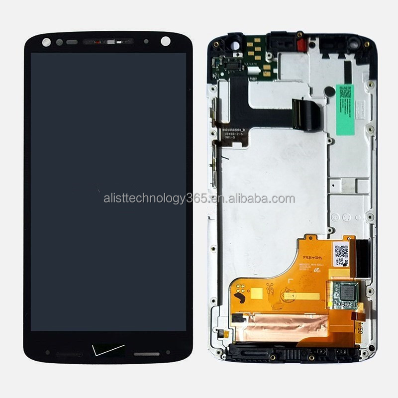 for Motorola Droid Turbo 2 XT1585 LCD Display Touch Screen Digitizer with Frame