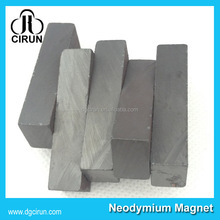 High Temperature Ferrite Block Magnet For Washing Machine Compressor