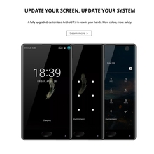 Drop shipping DOOGEE MIX 4GB 6GB Blackview OUKITEL VKWORLD HOMTOM LEAGOO BLUBOO 64GB 128GB Android 7.0 Latest 5G Mobile Phone
