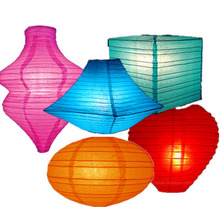 New Premium Hot Selling Five Star Paper Lanterns Wholesale