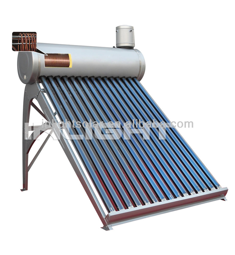 Integrated Preheat Copper Coil Solar Water Heater