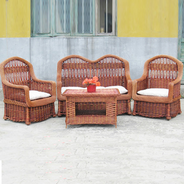 NEW DESIGN Luxury Dining Seating Garden Patio Resin Wicker Rattan Outdoor Furniture wicker chair