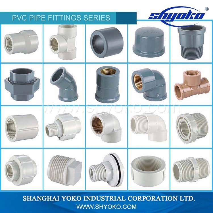 Direct Manufacture upvc pipes fittings