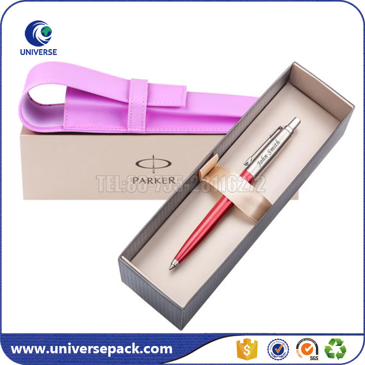 Luxury Design Promotion Pen Gift Box With Company Name