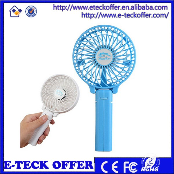 air battery power cooling travel handheld usb fan rechargeable mini fan