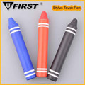 Silicon Tip Crayons Cute Stylus Touch screen Pen for ipad,crayons shape small Touch Screen Stylus Pen for laptop