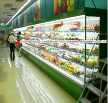 Supermarket commercial fresh vegetable coolers
