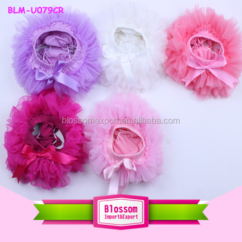 New arrival Wholesale baby bloomers chiffon bloomers multicolored baby girl's fashion bloomer