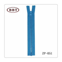 Quality Guarantee Wholesale Open-End/Close-End/Double Sliders/Invisible/Waterproof/Nickel-Free YKK Plastic/Nylon Zipper For Sale