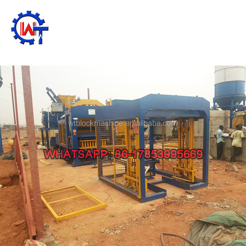 WANTE BRAND <strong>Q10</strong>-15 hydraulic fly ash hollow paver solid brick making machine