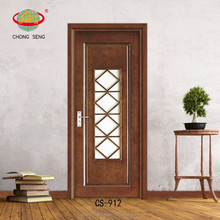 Eco-friendly material mdf wooden swing door room partition