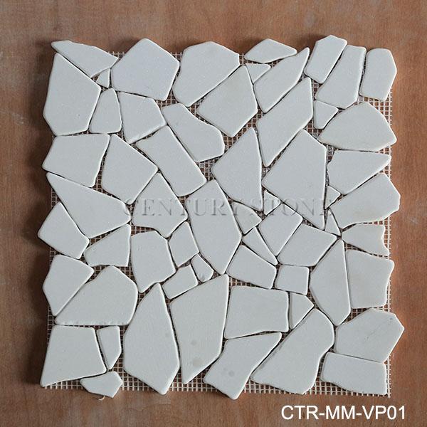 Afilado con piedra blanca oriental r o roca piedra azulejo for Piedra de rio blanca precio