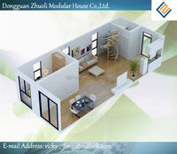Provides an energy-efficient, quality custom prefabricated living container villa at the best price