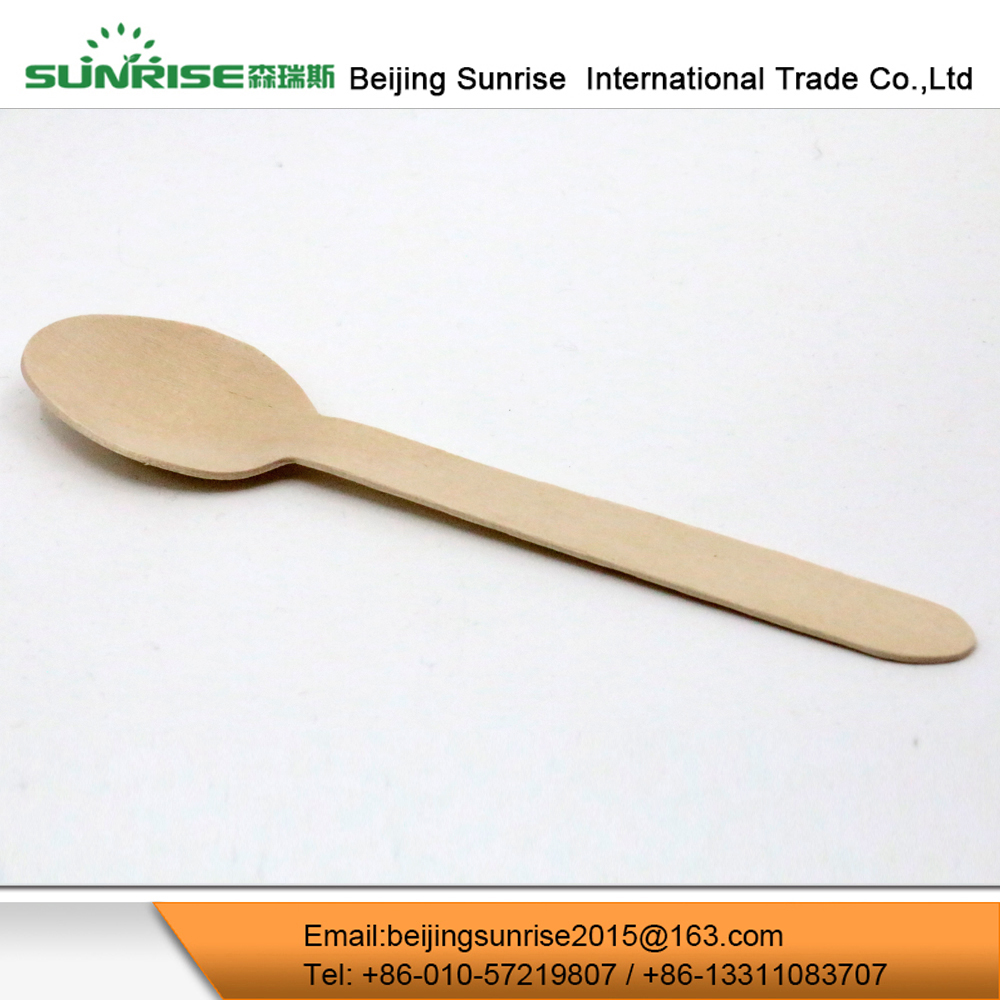 Disposable Wooden Eco Friendly Biodegradable Cutlery