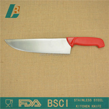 "12"" white PP handle chef knife"