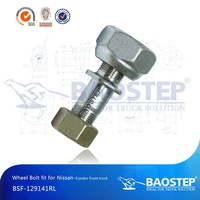 screw and front wheel bolt for Nissan condor Front