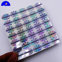 3D color changing Secure genuine custom hologram label sticker,High quality Grey print scratch off stickers