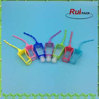 Silicone holder for 30ml hand washing/liquid soap/hand sanitizer bottle,